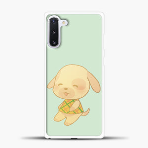 Animal Crossing Goldie Samsung Galaxy Note 10 Case, White Plastic Case | casedilegna.com
