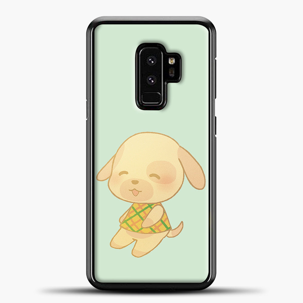Animal Crossing Goldie Samsung Galaxy S9 Plus Case, Black Plastic Case | casedilegna.com