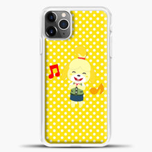 Load image into Gallery viewer, Animal Crossing Happy Cartoon iPhone 11 Pro Max Case, White Plastic Case | casedilegna.com