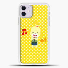 Load image into Gallery viewer, Animal Crossing Happy Cartoon iPhone 11 Case, White Plastic Case | casedilegna.com