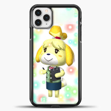 Load image into Gallery viewer, Animal Crossing Light Bubble iPhone 11 Pro Case, Black Plastic Case | casedilegna.com