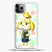 Load image into Gallery viewer, Animal Crossing Light Bubble iPhone 11 Pro Max Case, White Plastic Case | casedilegna.com