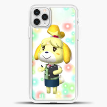 Load image into Gallery viewer, Animal Crossing Light Bubble iPhone 11 Pro Case, White Plastic Case | casedilegna.com