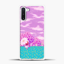 Load image into Gallery viewer, Animal Crossing Purple Sky Samsung Galaxy Note 10 Case, White Plastic Case | casedilegna.com