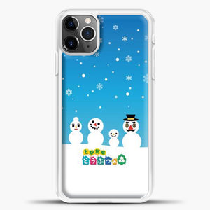 Animal Crossing Snoflake iPhone 11 Pro Max Case, White Plastic Case | casedilegna.com