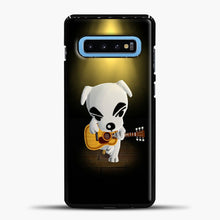 Load image into Gallery viewer, Animal Crossing Stage Samsung Galaxy S10 Case, Black Plastic Case | casedilegna.com