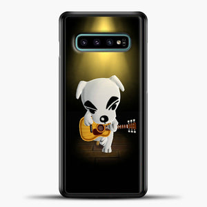 Animal Crossing Stage Samsung Galaxy S10e Case, Black Plastic Case | casedilegna.com