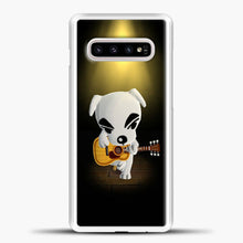 Load image into Gallery viewer, Animal Crossing Stage Samsung Galaxy S10e Case, White Plastic Case | casedilegna.com