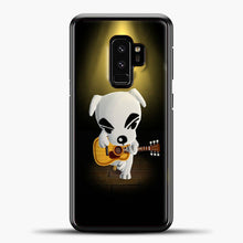 Load image into Gallery viewer, Animal Crossing Stage Samsung Galaxy S9 Case, Black Plastic Case | casedilegna.com