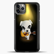 Load image into Gallery viewer, Animal Crossing Stage iPhone 11 Pro Max Case, Black Plastic Case | casedilegna.com