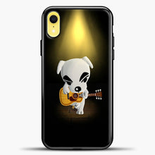 Load image into Gallery viewer, Animal Crossing Stage iPhone XR Case, Black Plastic Case | casedilegna.com