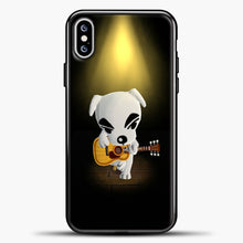 Load image into Gallery viewer, Animal Crossing Stage iPhone XS Max Case, Black Plastic Case | casedilegna.com
