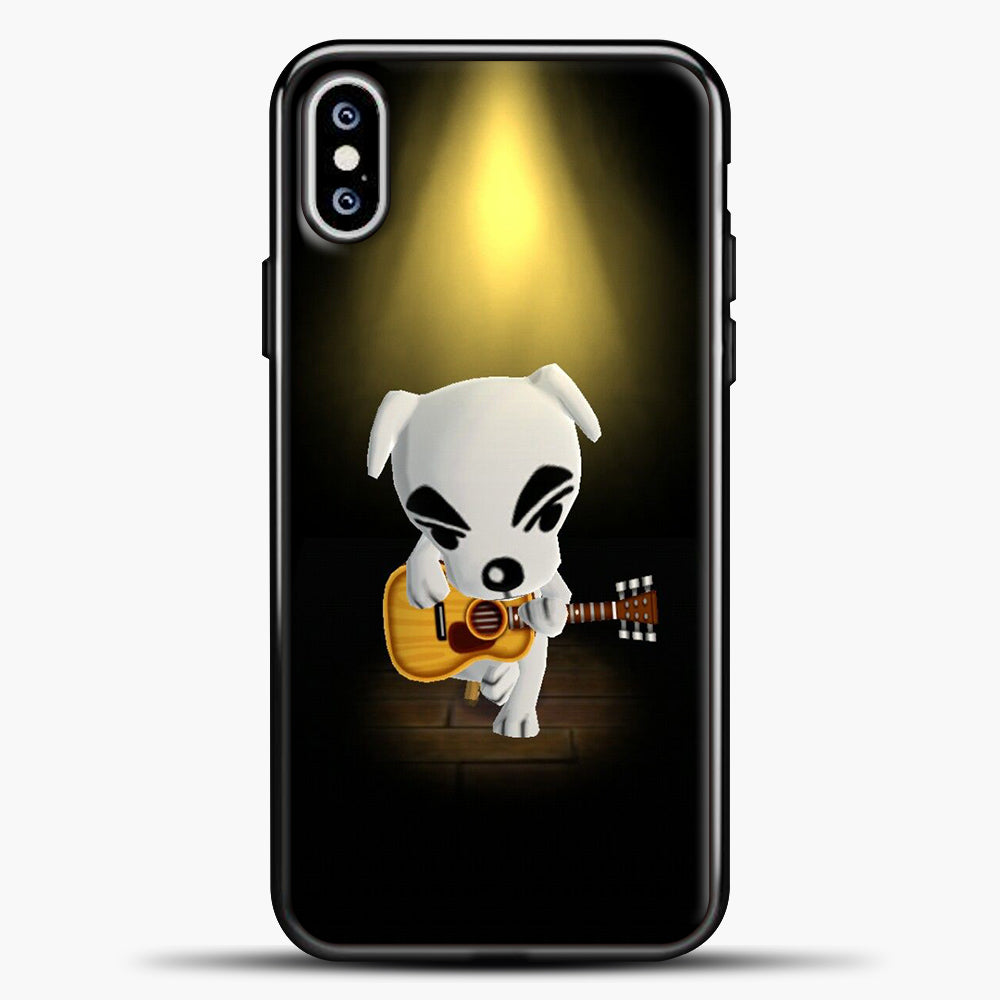 Animal Crossing Stage iPhone XS Max Case, Black Plastic Case | casedilegna.com