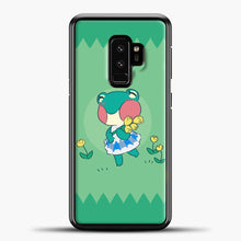 Load image into Gallery viewer, Animal Crossing Tosca Background Samsung Galaxy S9 Case, Black Plastic Case | casedilegna.com