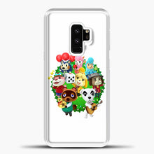 Load image into Gallery viewer, Animal Crossing White Background Samsung Galaxy S9 Case, White Plastic Case | casedilegna.com