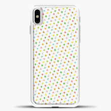 Load image into Gallery viewer, Animal Crossing White Background iPhone X Case, White Plastic Case | casedilegna.com
