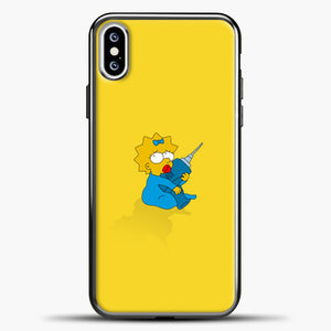 Baby Lisa iPhone XS Case, Black Plastic Case | casedilegna.com