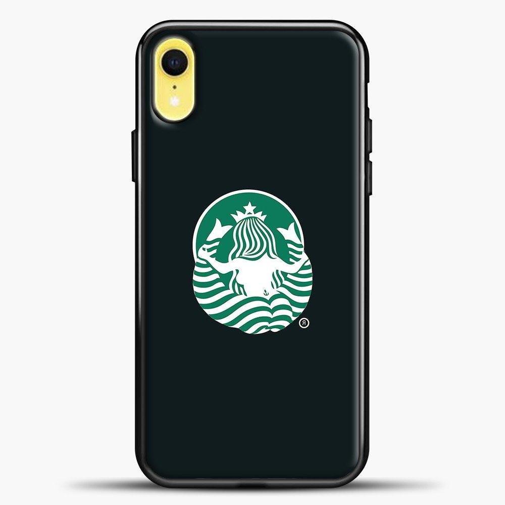 Back Of Starbucks Logo Art iPhone XR Case, Black Plastic Case | casedilegna.com