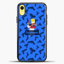 Load image into Gallery viewer, Bart Hype Gun iPhone XR Case, Black Plastic Case | casedilegna.com