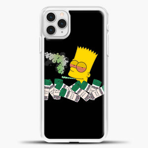 Bart Simpson Is High On Weed iPhone 11 Pro Case