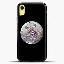 Load image into Gallery viewer, Bayern Munchen Football Club iPhone XR Case, Black Plastic Case | casedilegna.com