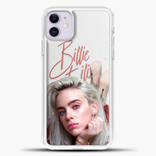 Load image into Gallery viewer, Billie Eilish Beautiful Photo iPhone 11 Case, White Plastic Case | casedilegna.com