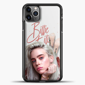 Billie Eilish Beautiful Photo iPhone 11 Pro Max Case, Black Plastic Case | casedilegna.com