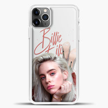 Load image into Gallery viewer, Billie Eilish Beautiful Photo iPhone 11 Pro Max Case, White Plastic Case | casedilegna.com