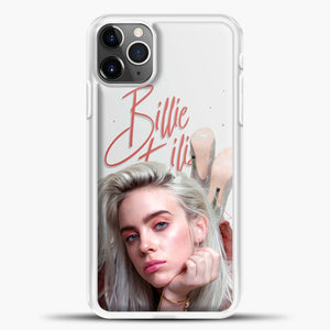 Billie Eilish Beautiful Photo iPhone 11 Pro Max Case, White Plastic Case | casedilegna.com