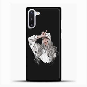 Billie Eilish Case Wallpaper Samsung Galaxy Note 10 Case, Black Plastic Case | casedilegna.com