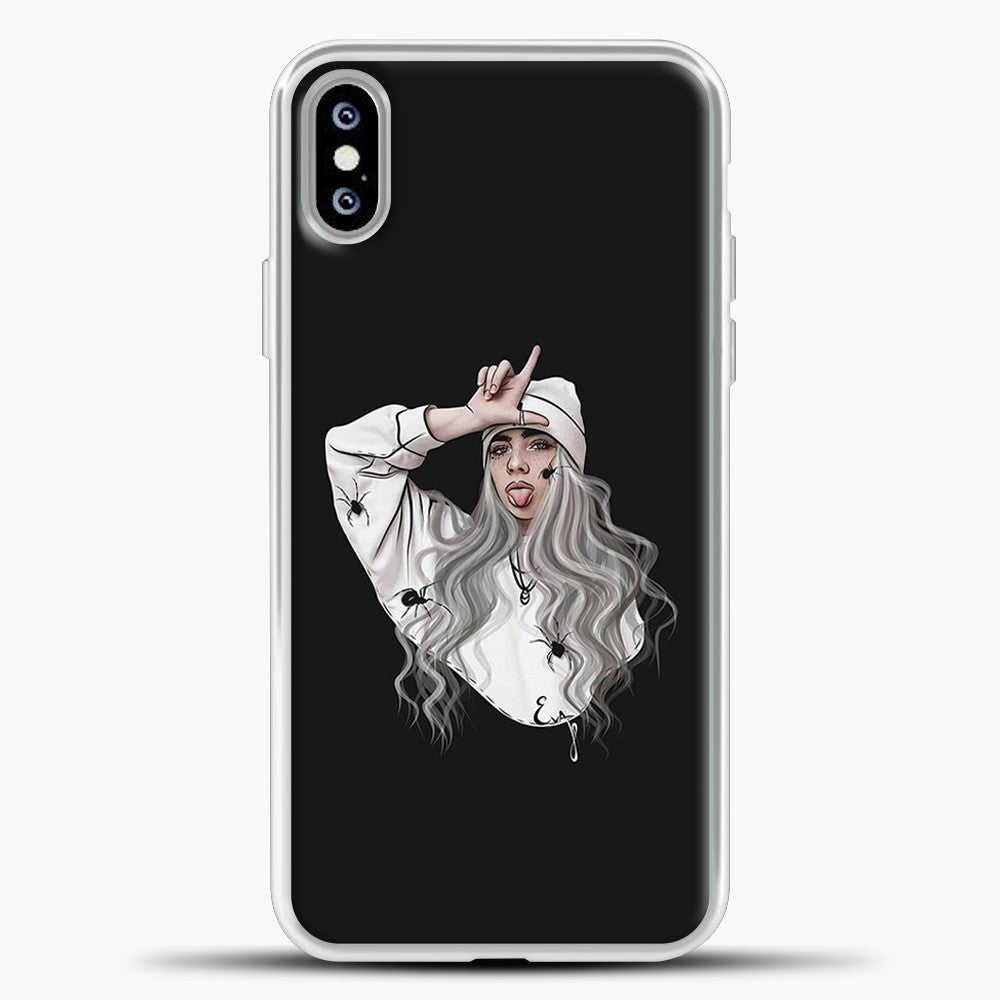 Billie Eilish Case Wallpaper iPhone XS Max Case, White Plastic Case | casedilegna.com