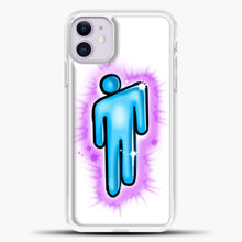 Load image into Gallery viewer, Billie Eilish Blohsh Logo White iPhone 11 Case, White Plastic Case | casedilegna.com