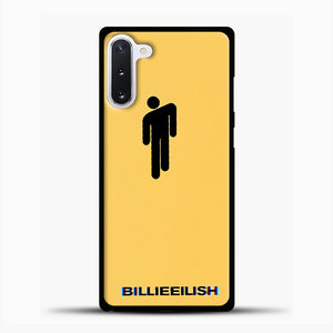 Billie Eilish Blohsh Yellow Samsung Galaxy Note 10 Case, Black Plastic Case | casedilegna.com