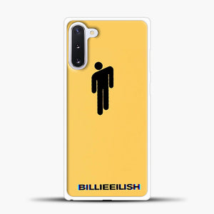 Billie Eilish Blohsh Yellow Samsung Galaxy Note 10 Case, White Plastic Case | casedilegna.com