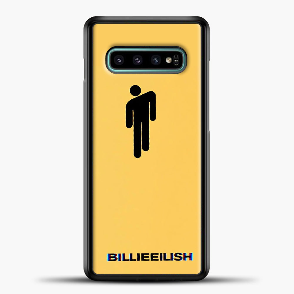 Billie Eilish Blohsh Yellow Samsung Galaxy S10e Case, Black Plastic Case | casedilegna.com