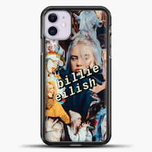 Load image into Gallery viewer, Billie Eilish Photo iPhone 11 Case, Black Plastic Case | casedilegna.com