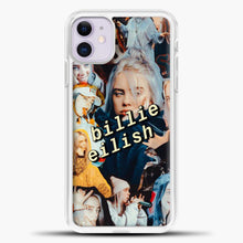 Load image into Gallery viewer, Billie Eilish Photo iPhone 11 Case, White Plastic Case | casedilegna.com