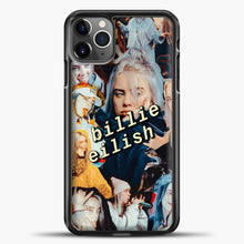 Load image into Gallery viewer, Billie Eilish Photo iPhone 11 Pro Max Case, Black Plastic Case | casedilegna.com