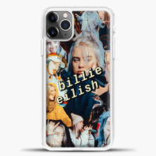Load image into Gallery viewer, Billie Eilish Photo iPhone 11 Pro Max Case, White Plastic Case | casedilegna.com