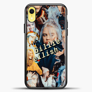 Billie Eilish Photo iPhone XR Case, Black Plastic Case | casedilegna.com