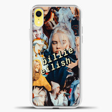Load image into Gallery viewer, Billie Eilish Photo iPhone XR Case, White Plastic Case | casedilegna.com