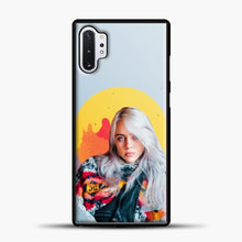 Load image into Gallery viewer, Billie Eilish Pink Splash Samsung Galaxy Note 10 Plus Case, Black Plastic Case | casedilegna.com