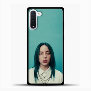 Billie Eilish Tosca Background Samsung Galaxy Note 10 Case, Black Plastic Case | casedilegna.com