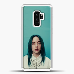 Billie Eilish Tosca Background Samsung Galaxy S9 Plus Case, White Plastic Case | casedilegna.com