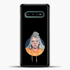 Billie Eilish Wallpaper Aestethic Samsung Galaxy S10e Case, Black Plastic Case | casedilegna.com