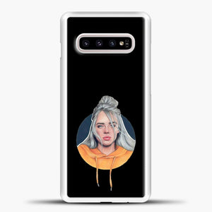 Billie Eilish Wallpaper Aestethic Samsung Galaxy S10e Case, White Plastic Case | casedilegna.com