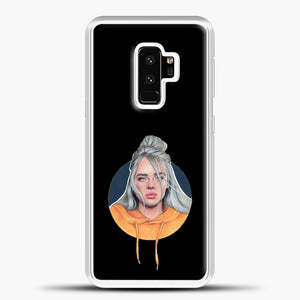 Billie Eilish Wallpaper Aestethic Samsung Galaxy S9 Plus Case, White Plastic Case | casedilegna.com
