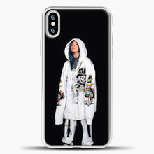 Load image into Gallery viewer, Billie Eilish White Jacket iPhone XS Case, White Plastic Case | casedilegna.com