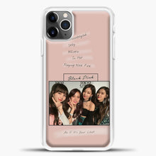 Load image into Gallery viewer, Blackpink Album iPhone 11 Pro Max Case, White Plastic Case | casedilegna.com