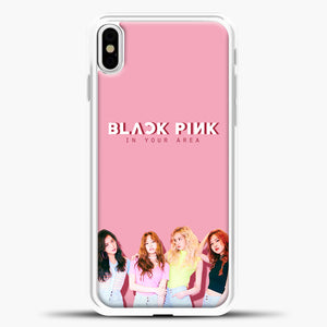 Blackpink BP iPhone X Case, White Plastic Case | casedilegna.com